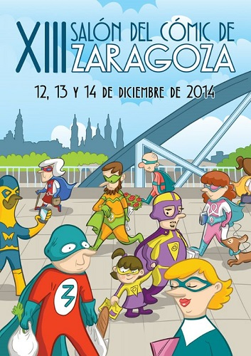 Zaragoza celebra o suyo XIII Salón d'o comic