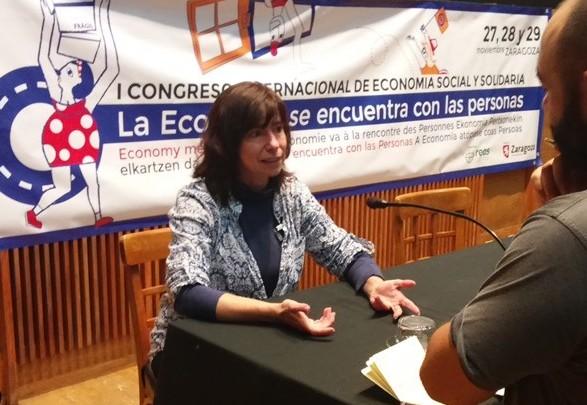 """Yayo Herrero: """"recuperar  elementos de planificación económica es esencial"""""""