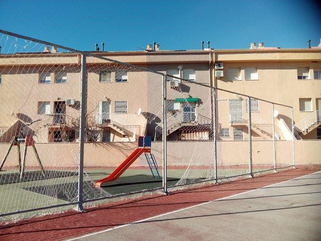CHA Andorra pide que se repare la red de la pista deportiva