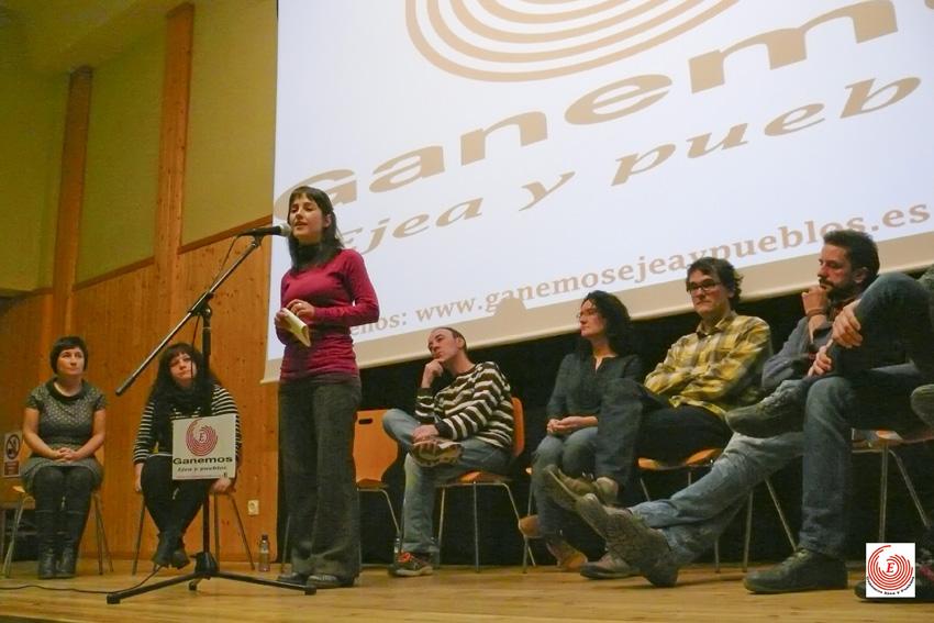 'Ganemos Ejea y pueblos' se presentará a las municipales bajo el nombre 'Ejea y pueblos En Común'
