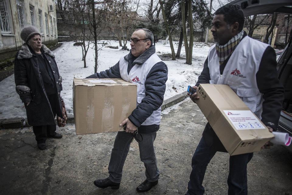 Donbass: hospitales bombardeados y civiles atrapados en pleno recrudecimiento de las hostilidades