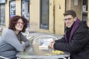Isa y Lucas Platero. Foto: David Fernández (Diagonal)