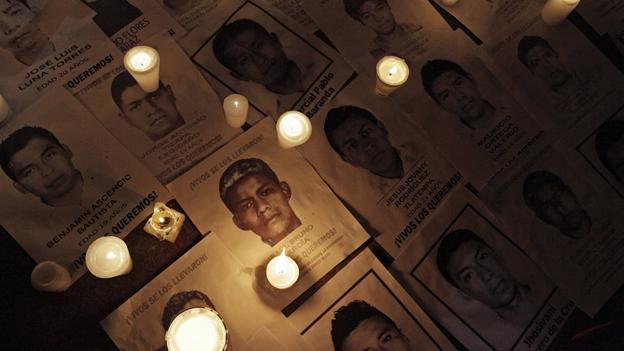 """La Pantera Rossa y Cálamo proyectan el documental """"Mirar o morir. El ejército en la noche de Iguala"""" en recuerdo de los 43 estudiantes de Ayotzinapa"""