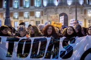 Manifestación por la absolución de 'Alfon', el pasado domingo en Madrid. Foto: Dani Gago (DISO Press)