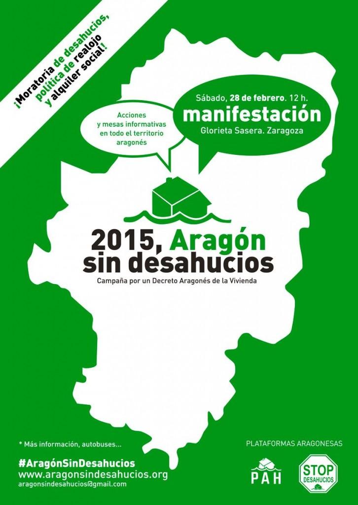 ¿Es posible vivir un 2015 sin desahucios en Aragón?