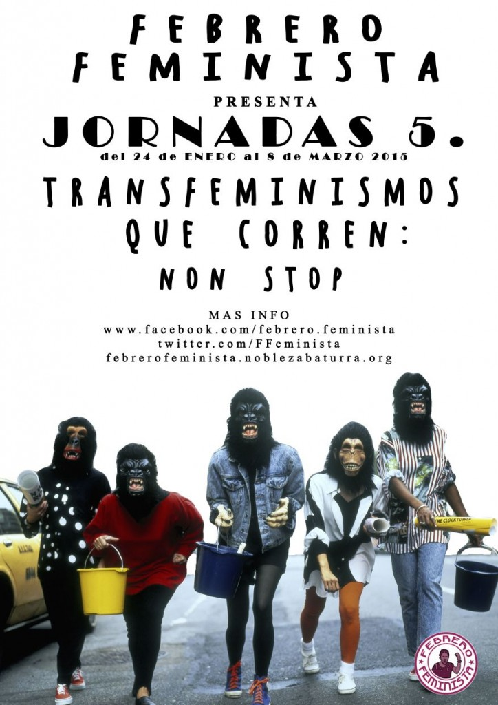 'Transfeminismos que corren: Non Stop', llegan las quintas jornadas de Febrero Feminista