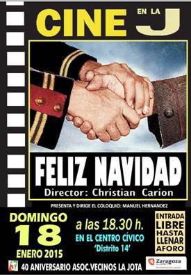 Cine Forum en La Jota con la película sobre la Primera Guerra Mundial 'Feliz Navidad'