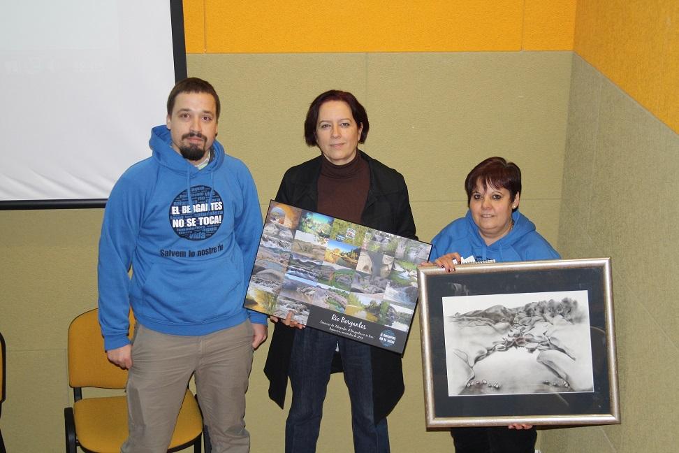 Entregados los galardones del 2º Concurso de Fotografía sobre el río Bergantes