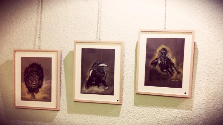 Birosta expone 'Los Desheredados' de Rockcocó, una muestra solidaria con los derechos de los animales