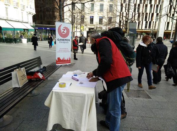 Ganemos Zaragoza celebra hoy el I Foro de Participación Social