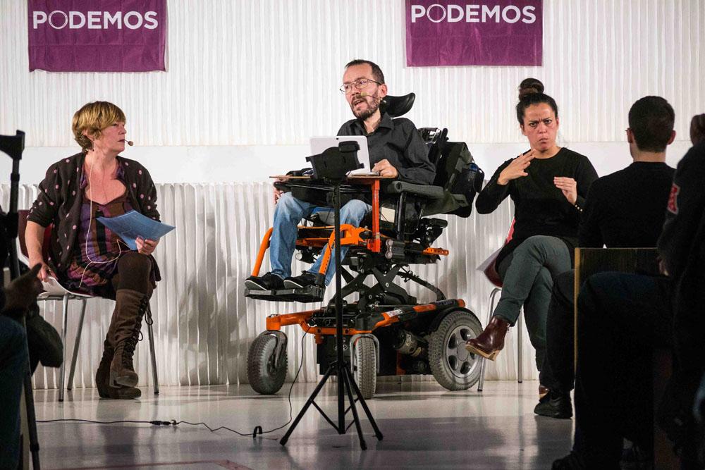 Echenique afirma que dejará el Parlamento europeo para optar a la presidencia de Aragón