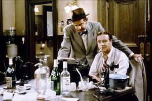 Walter Matthau y Jack Lemmon en un fotograma de Primera Plana de Billy Wilder.
