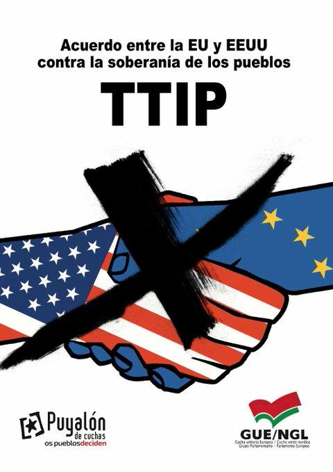 """Puyalón denuncia que """"la desregulación propuesta en el TTIP tendrá consecuencias muy graves para Aragón"""""""