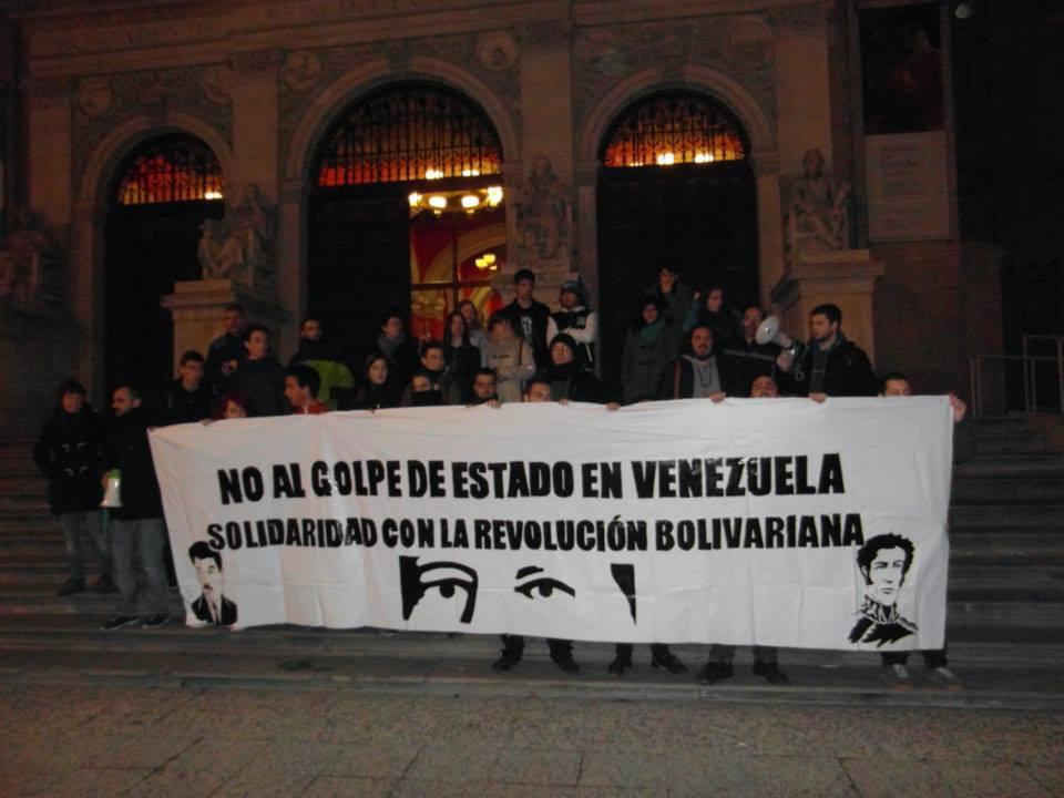 Solidaridad con Venuezuela ante un nuevo intento de golpe de estado