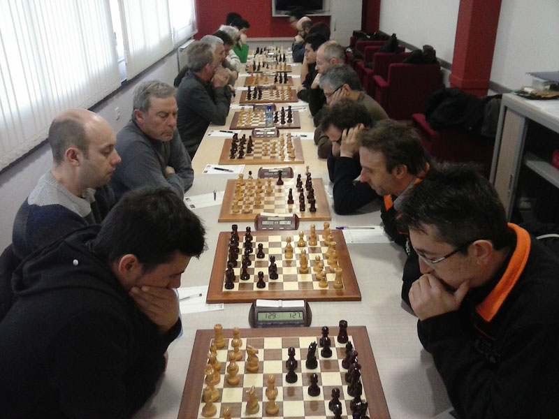 Segunda victoria consecutiva para el Baix Segre de Mequinensa en la preferente de la Liga Catalana de Ajedrez