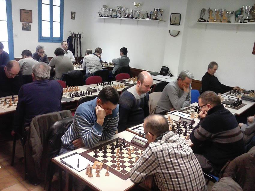 Primera derrota de la temporada del Baix Segre de Mequinensa en la preferente de ajedrez
