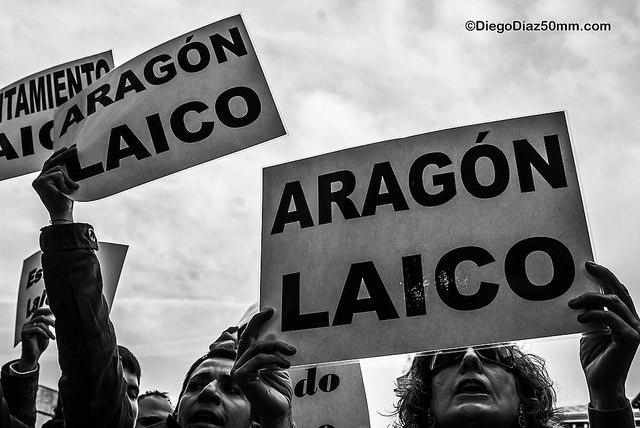 """CHA reclama un impulso hacia """"valores de laicidad"""" en las instituciones públicas aragonesas"""