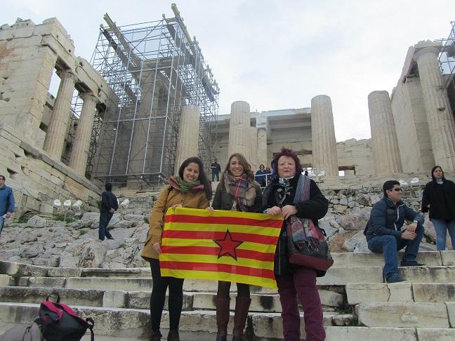 Aragón estió representada en a Conferencia Mundial de Mullers de Base d'Atenas