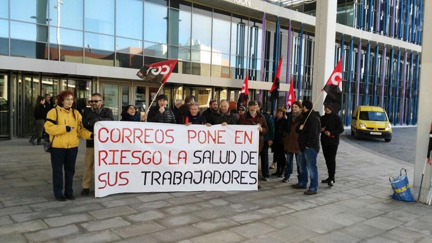 Huelga en el servicio de mensajería de Correos el jueves 7 de diciembre