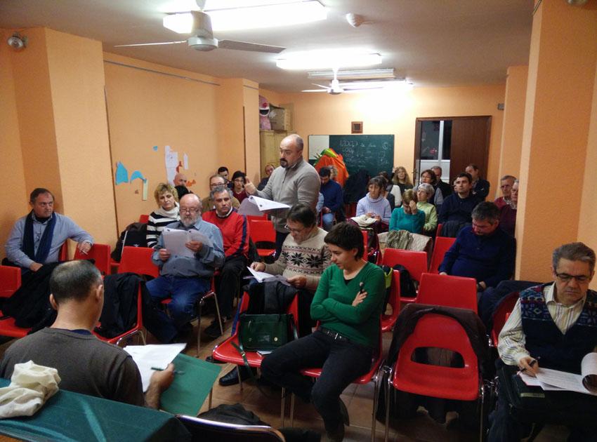 'Cambiar Huesca' se reúne con clubes y asociaciones relacionadas con el deporte de base
