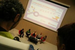 Inauguración del Congreso ESyS de Zaragoza. Foto: Jorge Millaruelo (AraInfo)