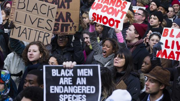 Protestas antirracistas en EEUU en el día de homenaje a Malcolm X