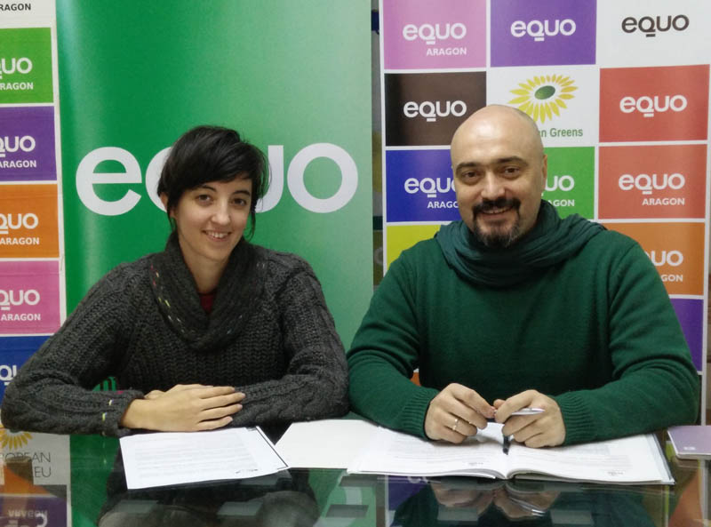 La cooperativa de consumo de energía verde Som Energia en los Viernes Verdes de Equo Huesca