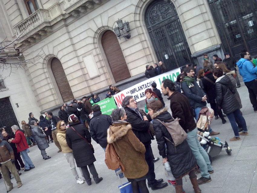 Zaragoza y Uesca escenarios de protestas a favor de la educación pública y la escuela rural