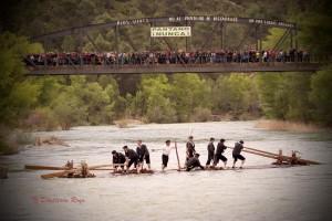 Nabata baixando O Gallligo Foto: Diapletón Royo
