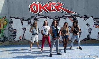 Oker, la banda madrileña de heavy-rock, presenta su segundo trabajo en Utopía
