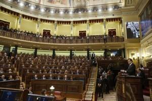 Rajoy durante su intervención en el Debate. Foto: Moncloa