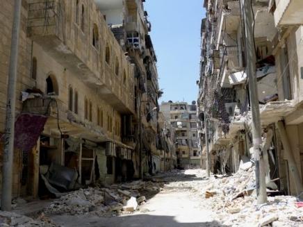 """Voluntario de MSF en Alepo: """"Sufrimos ataques casi todos los días. La vida se ha vuelto casi imposible"""""""