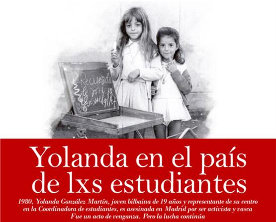 La directora del documental 'Yolanda en el país de lxs estudiantes' protagoniza un coloquio en la sede de IU Aragón