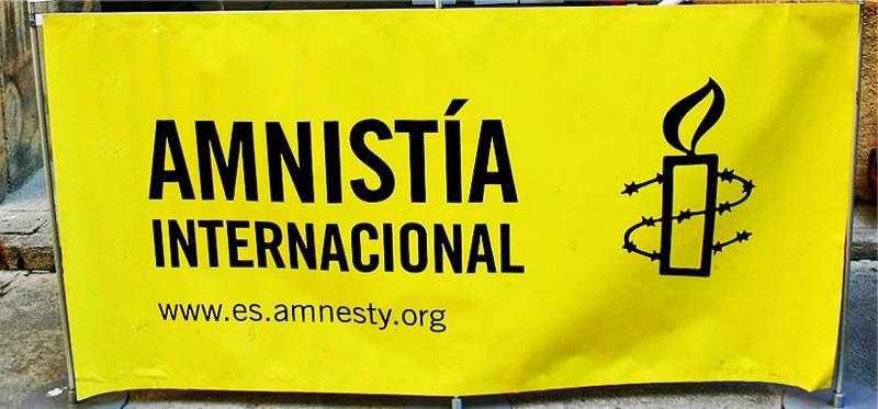 Amnistía Internacional sale a la calle con motivo de la campaña 'Valiente'