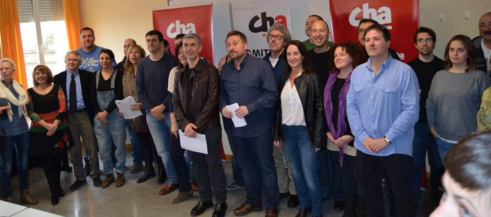 CHA confirma sus listas electorales a las elecciones aragonesas y municipales