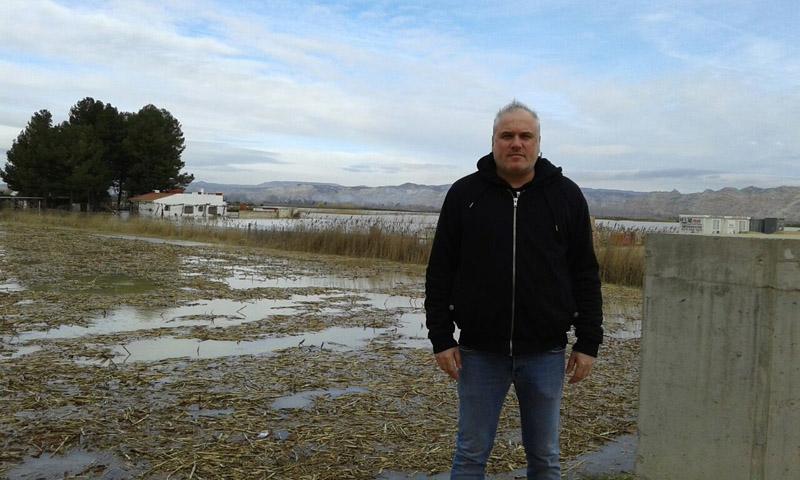 Boquiñeni y Pradilla evacuadas por la crecida del Ebro