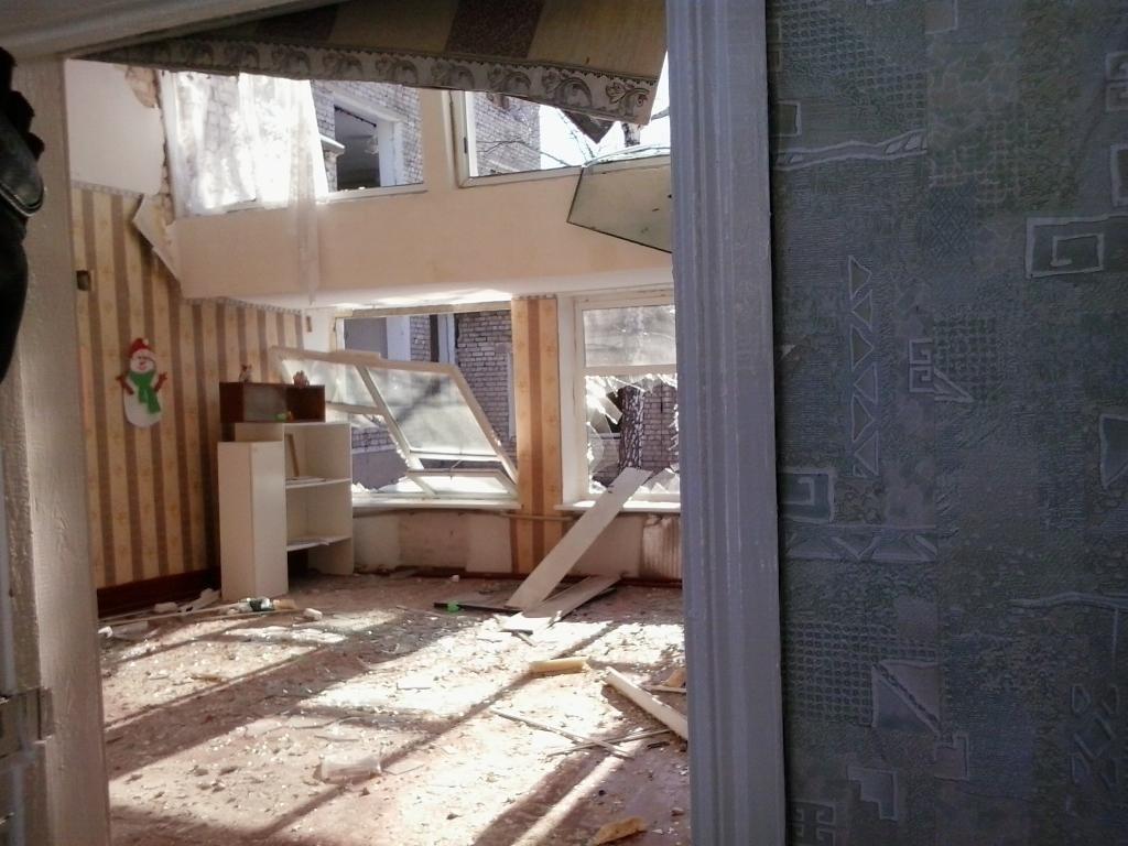 Debaltsevo controlada por la República Popular de Donetsk