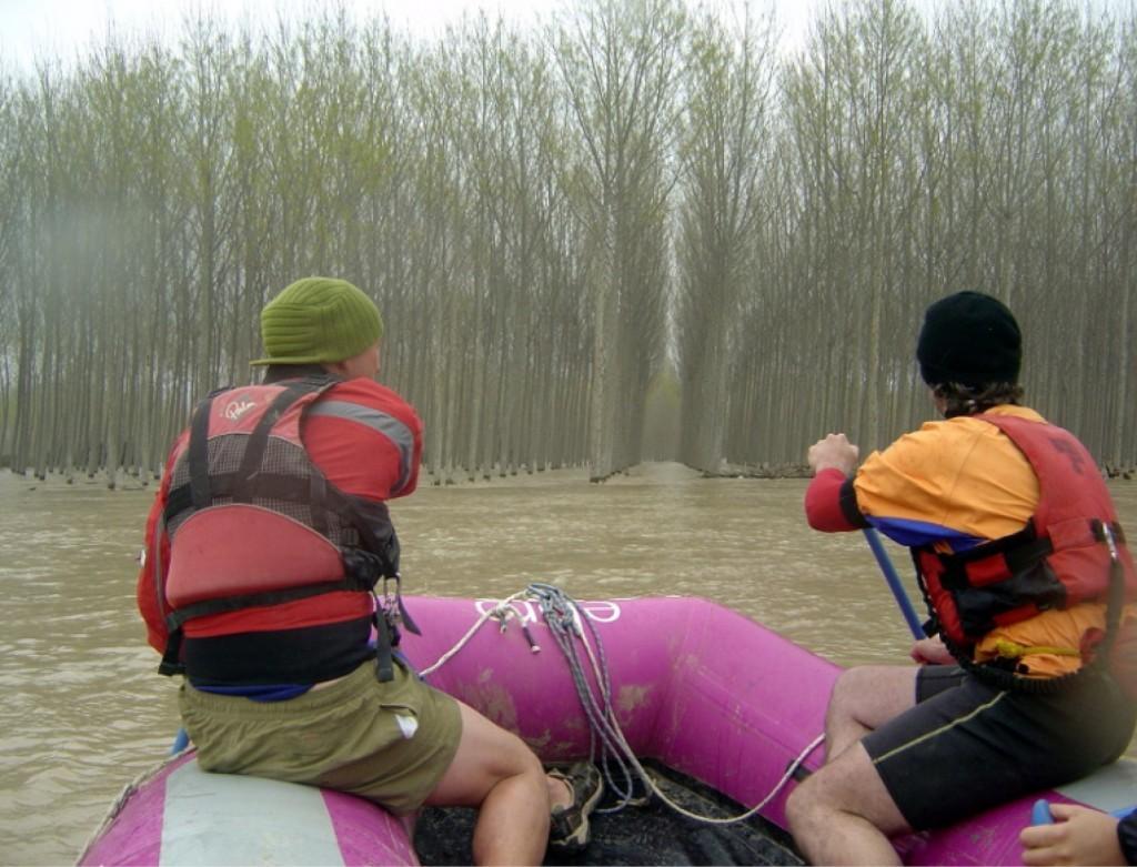¿Es posible remar todos juntos para mitigar el riesgo de inundaciones en el Ebro?