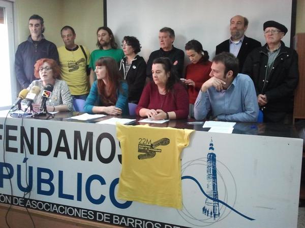 """Impulsan una campaña ciudadana por la absolución de Raquel Tenías """"detenida arbitrariamente"""" durante las Marchas de la Dignidad"""