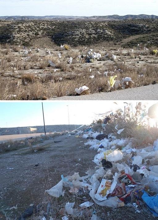 Denuncian ante el Seprona deficiencias en el 'vertedero' de Zaragoza con afecciones al entorno natural
