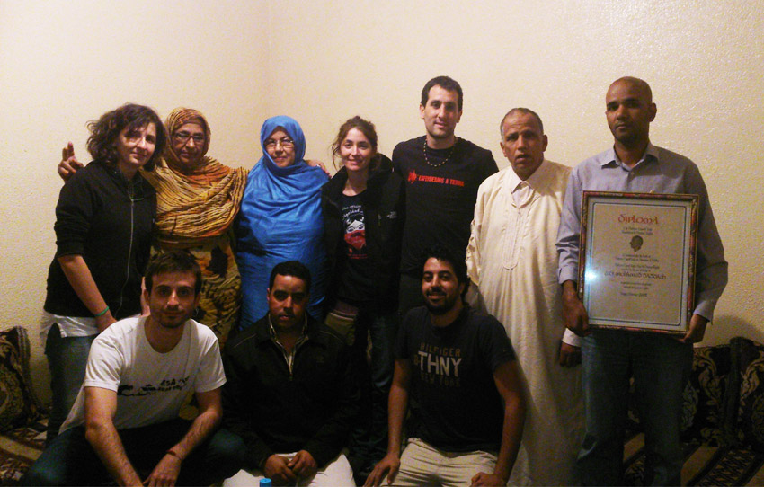 Primeras impresiones de la Brigada aragonesa en el Sáhara ocupado