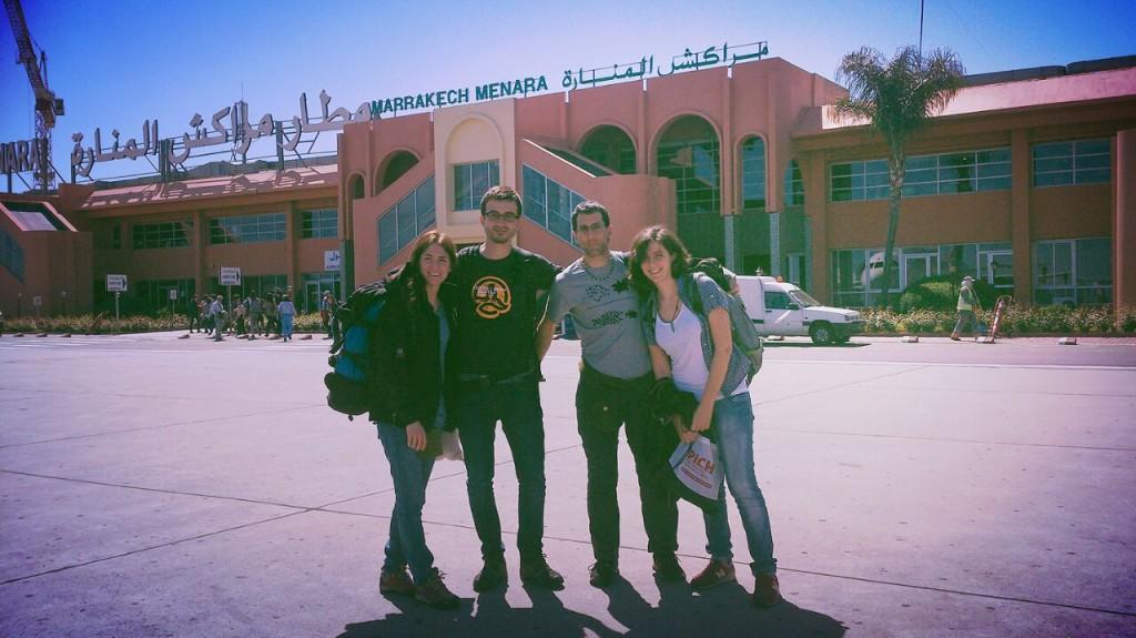 La Brigada Aragón-Sáhara 2015 consigue entrar en El Aaiun