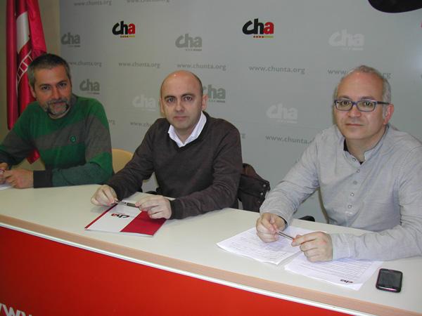 """CHA presenta sus propuestas municipalistas que """"apuestan por lo social, la sostenibilidad y la participación ciudadana"""""""