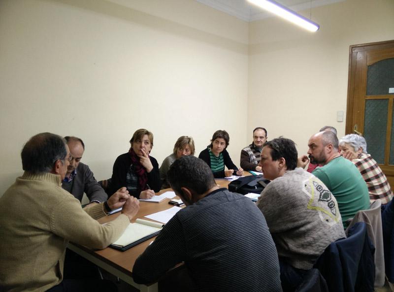 'Cambiar Huesca' se reúne con colectivos y personas que trabajan en el ámbito de la cooperación al desarrollo