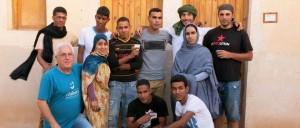 Profesorado y alumnado de la Escuela de Cine del Sahara, La EFA Abidin Kaid Saleh, distinguida con la Siñal Espiello Chicorrón