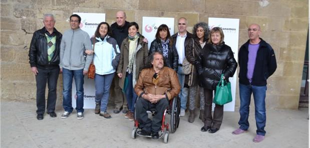 """""""Ganemos Alcañiz"""" presenta sus candidaturas a las primarias que se celebrarán del 25 al 28 de marzo"""