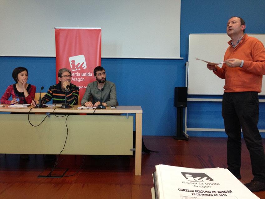 IU Aragón ratifica su programa electoral y su trabajo para la confluencia en Cambiar Aragón