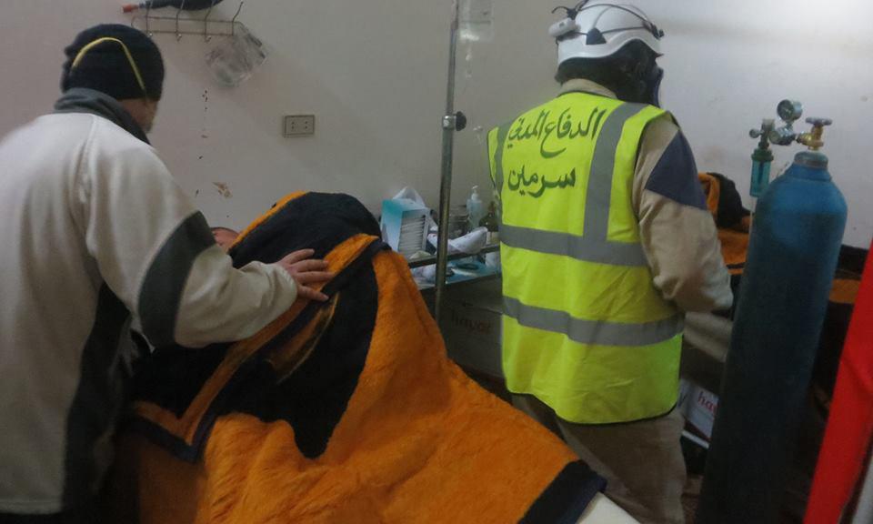 Ataque con cloro en una población del norte de Siria