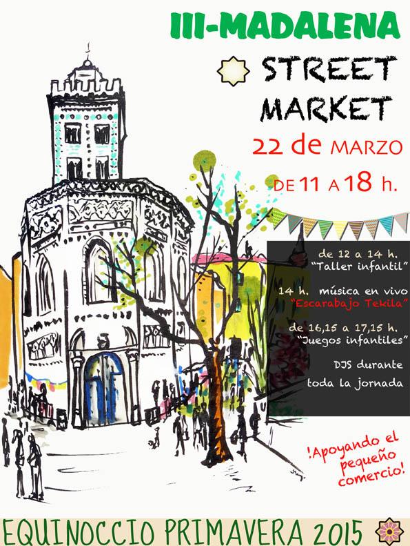 """La tercera edición del Madalena Street Market llenará las calles del barrio de """"originalidad, artesanía y ganas de un barrio vivo"""""""