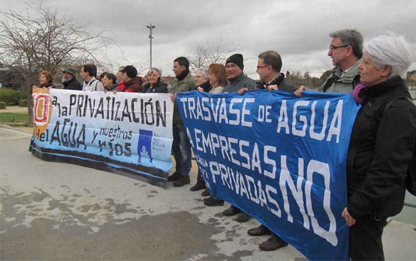 RAPA celebra el Día Mundial del Agua con una concentración en los nuevos depósitos de potabilización de Casablanca